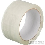 Клейкая лента упаковочная прозрачная 48 мм x 55 м толщина 45 мкм
