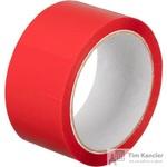 Клейкая лента упаковочная красная 48 мм x 55 м толщина 45 мкм