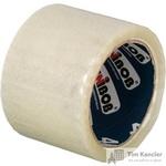 Клейкая лента упаковочная Unibob прозрачная 72 мм х 66 м толщина 40 мкм