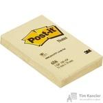 Стикеры Post-it Original 51x76 мм пастельные желтые (1 блок, 100 листов)