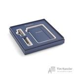 Подарочный набор Waterman Expert Matt Black GT (шариковая ручка, блокнот)