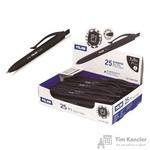 Ручка шариковая автоматическая масляная Milan P1 черная (толщина линии 1 мм)