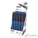 Ручка шариковая автоматическая масляная Milan Capsule синяя (толщина линии 1 мм)