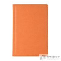 Ежедневник датированный на 2019 год Attache Сиам искусственная кожа А5 180 листов оранжевый (143x210 мм)