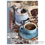 Бизнес-тетрадь Проф-пресс Крепкий кофе А4 96 листов цветная в клетку на  скрепке (200х173 мм)