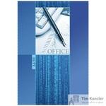 Блокнот Проф-Пресс Офисная Классика А4 80 листов синий в клетку на  сшивке (205х300 мм)