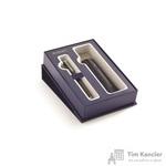 Подарочный набор Waterman Hemisphere Matt Black CT (перьевая ручка, чехол)