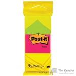 Стикеры Post-it Original 38x51 мм неоновые 3 цвета (3 блока по 100 листов)