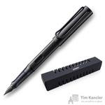Ручка перьевая Lamy 071 Al-Star цвет чернил синий цвет корпуса черный (артикул производителя 4000525)
