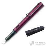 Ручка перьевая Lamy 029 Al-Star цвет чернил синий цвет корпуса бордовый (артикул производителя 4000330)