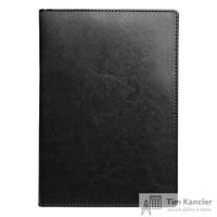 Ежедневник датированный на 2019 год InFolio Berlin искусственная кожа А5 176 листов черный (140х200 мм)