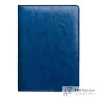 Ежедневник датированный на 2019 год InFolio Atrium искусственная кожа А5 176 листов синий (золотистый обрез, 140х200 мм)
