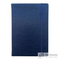 Ежедневник датированный на 2019 год InFolio Elegance искусственная кожа А5 176 листов синий (140х200 мм)