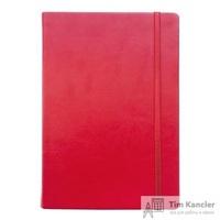 Ежедневник датированный на 2019 год InFolio Elegance искусственная кожа А5 176 листов красный (140х200 мм)