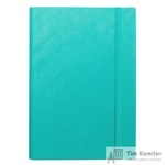 Ежедневник датированный на 2019 год InFolio Prime искусственная кожа А5 176 листов бирюзовый (140х200 мм)