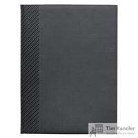 Ежедневник датированный на 2019 год InFolio Velure искусственная кожа А5 176 листов серый (150х210 мм)