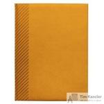 Ежедневник датированный на 2019 год InFolio Velure искусственная кожа А5 176 листов оранжевый (150х210 мм)