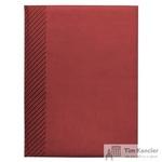 Ежедневник датированный на 2019 год InFolio Velure искусственная кожа А5 176 листов красный (150х210 мм)