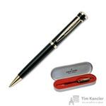 Ручка шариковая Pierre Cardin Gamme цвет чернил синий цвет корпуса черный (артикул производителя PC0805BP)