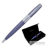 Ручка шариковая Pierre Cardin Baron цвет чернил синий цвет корпуса сиреневый (артикул производителя PC2211BP)