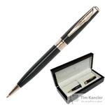 Ручка шариковая Pierre Cardin Secret цвет чернил синий цвет корпуса черный (артикул производителя PC1060BP)