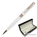 Ручка шариковая Pierre Cardin Secret цвет чернил синий цвет корпуса белый (артикул производителя PC1061BP)