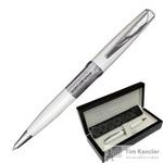 Ручка шариковая Pierre Cardin Secret цвет чернил синий цвет корпуса белый (артикул производителя PC3601BP)