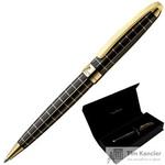 Ручка шариковая Pierre Cardin Progress цвет чернил синий цвет корпуса черный (артикул производителя PC5000BP-02G)
