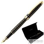 Ручка шариковая Pierre Cardin Progress цвет чернил синий цвет корпуса черный (артикул производителя PC5000FP-02G)