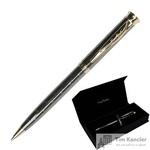 Ручка шариковая Pierre Cardin Tresor цвет чернил синий цвет корпуса черный (артикул производителя PC2424BP)