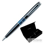 Ручка шариковая Pierre Cardin Libra цвет чернил синий цвет корпуса черный (артикул производителя PC3400BP-02)