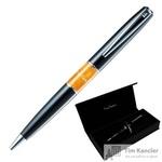 Ручка шариковая Pierre Cardin Libra цвет чернил синий цвет корпуса черный (артикул производителя PC3401BP)