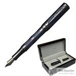 Ручка перьевая Pierre Cardin The One цвет чернил синий цвет корпуса черный/синий (артикул производителя PC1001FP-08)