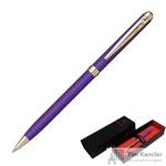 Ручка шариковая Pierre Cardin Slim цвет чернил синий цвет корпуса фиолетовый (артикул производителя PC1005BP-83G)