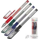Набор гелевых ручек Attache Gelios-010 (толщина линии 0.5 мм, 4 цвета)