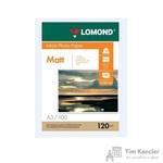Фотобумага для цветной струйной печати Lomond (матовая, A3, 120 г/кв.м, 100 листов)