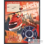 Тетрадь школьная Альт Самолеты А5 12 листов в линейку (обложка в ассортименте)