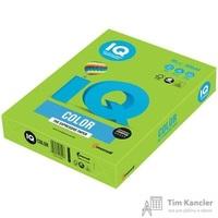 Бумага цветная для офисной техники IQ Color зеленая липа LG46 (А4, 80 г/кв.м, 500 листов)