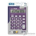 Калькулятор настольный Milan 150610TDPRBL 10-разрядный фиолетовый