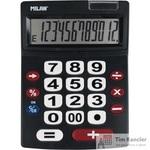 Калькулятор настольный Milan 12-разрядный черный