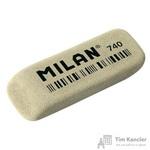 Ластик  Milan 740 каучуковый  серый