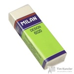 Ластик  Milan 6020 пластиковый белый