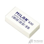 Ластик  Milan Technic 630 пластиковый белый