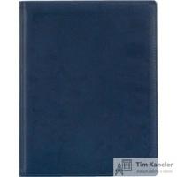 Ежедневник датированный на 2019 год Attache Вива искусственная кожа A4 168 листов синий (210x265 мм)