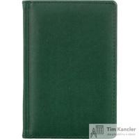 Ежедневник датированный на 2019 год Attache Вива искусственная кожа A6 168 листов зеленый (100x150 мм)