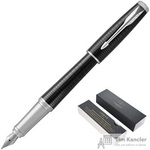 Ручка перьевая Parker Urban цвет чернил синий цвет корпуса черный (артикул производителя 1931613)