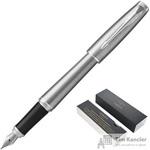 Ручка перьевая Parker Urban CT цвет чернил синий цвет корпуса серебристый (артикул производителя 1931597)