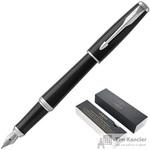 Ручка перьевая Parker Urban СТ цвет чернил синий цвет корпуса черный (артикул производителя 1931596)
