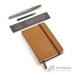 Подарочный набор Parker Sonnet Stainless Stell CT (перьевая ручка, блокнот)