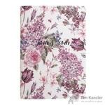 Тетрадь общая Emily Розовый А5 48 листов в клетку на скрепке
